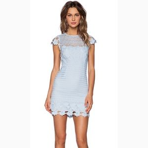 NWOT Saylor Jessa Dress in Sky XS